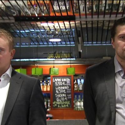 Tomi Lämsä och Tomek Valtonen