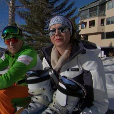 Kristiina Kekäläinen ja Kalle Palander.