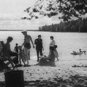 Lomailijoita Keurusselän rannalla