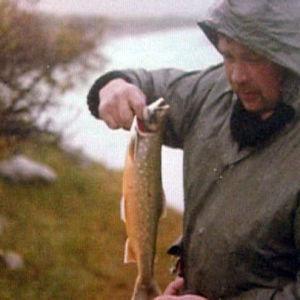 Hauturi Olli Karonen ehti myös kalastaa, joskus Kekkosellekin.
