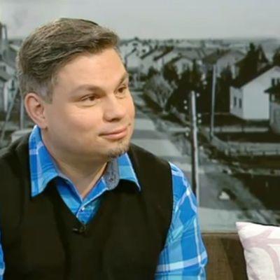 Esikoiskirjailija Tommi Kinnunen