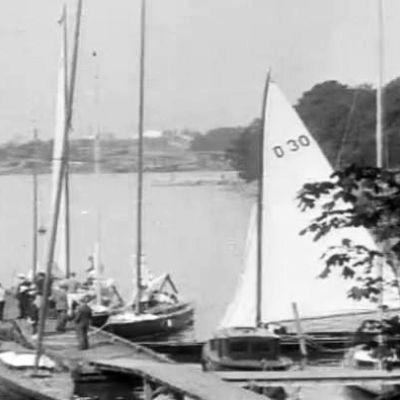 Segelbåtar, 1929