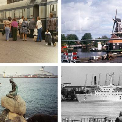 Kaukojuna, tuulimylly Hollannissa, Pieni merenneito Kööpenhaminassa, Silja Linen matkustajalautta