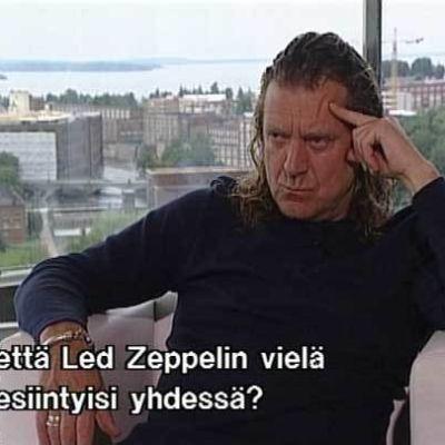 Robert Plant Helsingissä 1990-luvulla.