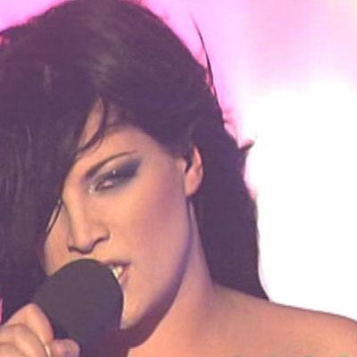 Hanna Pakarinen edusti Suomea Helsingin euroviisuissa 2007