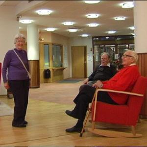 Ebba Holmberg, Carl Mesterton och Dage Forsell, Folkhälsans seniorhus i Helsingfors