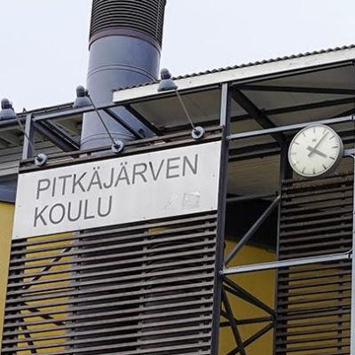 Pitkäjärven koulu i Birkaland.