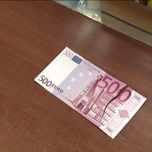 Revennyt 500 euron seteli