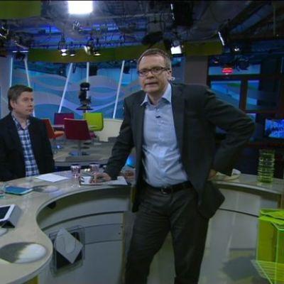 Politiikan toimittajat Mari Haavisto, Marko Junkkari ja Matti Virtanen esittivät veikkauksensa tulevasta hallituspohjasta ja uuden hallituksen tulevista ministereistä.