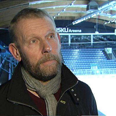 Pelaajayhdistyksen toiminnanjohtaja Jarmo Saarela