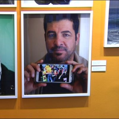 Kaksi valokuvaa. Vasemman puoleisessa irakilainen nainen ja oikealla hänen miehensä.