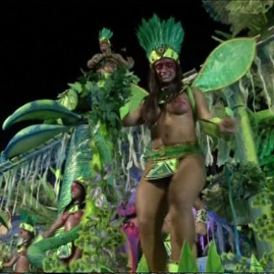 Sambakarnevaalien 2016 ensimmäinen ilta