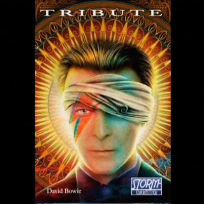 David Bowiesta sarjakuva.