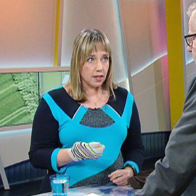 HSY:n ympäristöasiantuntija Mia Tarvainen.