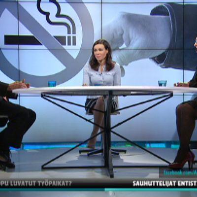 Ben Zyskowicz, Susanne Päivärinta ja Maria Tolppanen.