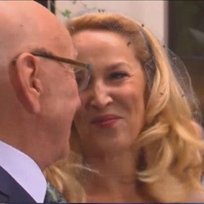 Jerry Hall ja Rupert Murdoch
