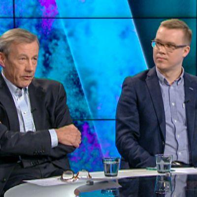 Sixten Korkman ja Joonas Rahkola