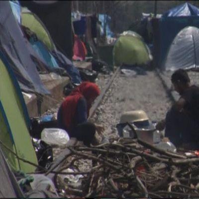 Idomenin leiri Makedonian rajan kupeessa