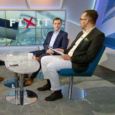 Sebastian Tynkkynen, Antti Kurvinen ja Wille Rydman.