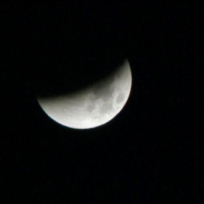 Kuun pimennys.