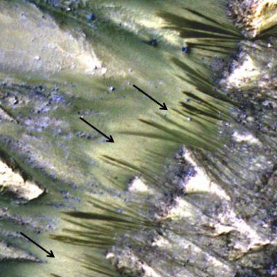 ilmakuva Marsin pinnasta