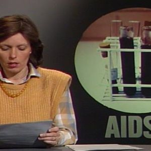 Tv-nytt om aids, Yle 1986