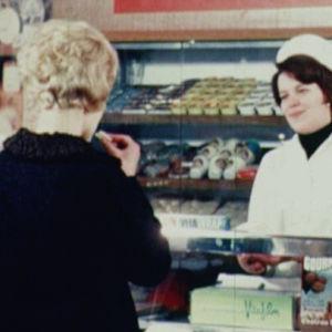 Lahden osuuskauppa LOK vuonna 1967.