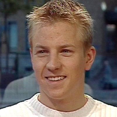 Kimi Räikkönen Aamu-tv:ssä 2000