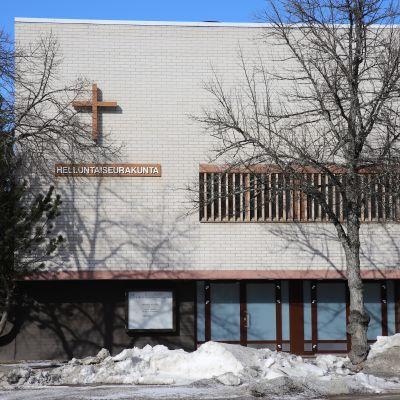 Kouvolan helluntaiseurakunnan kirkko.