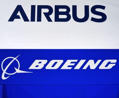 Konkurrens mellan flygplanstillverkarna Airbus och Boeing