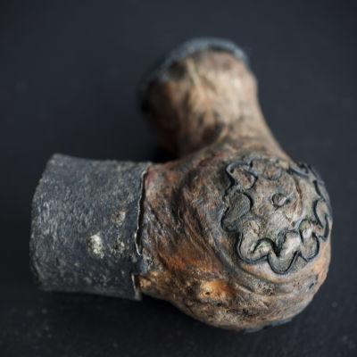 Ett gammalt piphuvud
