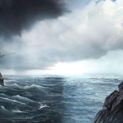 Viisikko ja meri.
