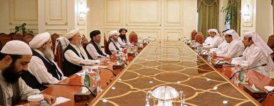 Fredsförhandlingar med talibaner i Qatar