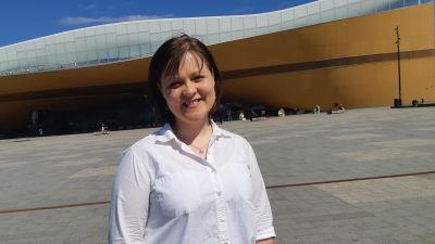 Kristdemokraternas kommunalvalskandidat Iina Mattila