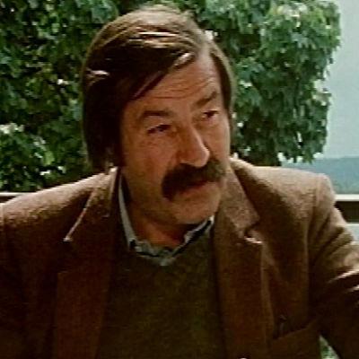 Kirjailija Günter Grass Mukkulassa (1981).