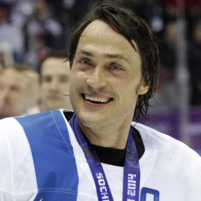 Teemu Selänne i OS 2014.