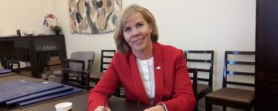 Anna-Maja Henriksson i riksdagen.