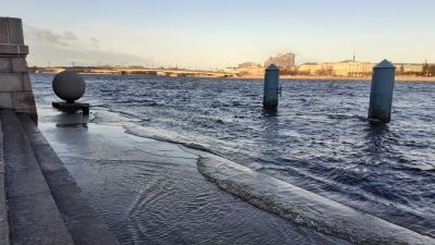 Högvatten, s:t Petersburg