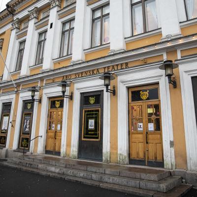 Åbo svenska teaters huvudbyggnad.