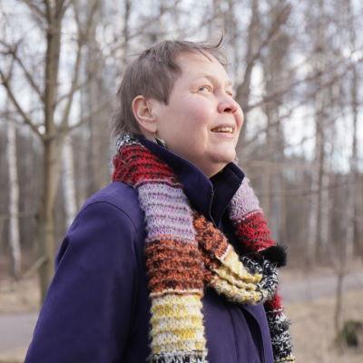Tania Söderman är synskadad