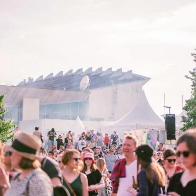 Publik på Sideways -festivalen 2019