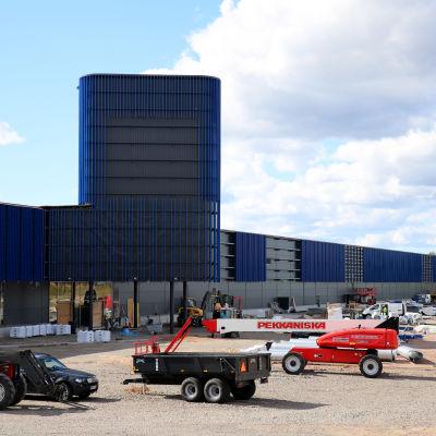 Vaalimaalle rakentuva ostoskeskus