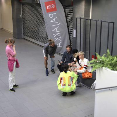 Ikimetäs työryhmä Kajaanin Kauppapaikka 18:ssa
