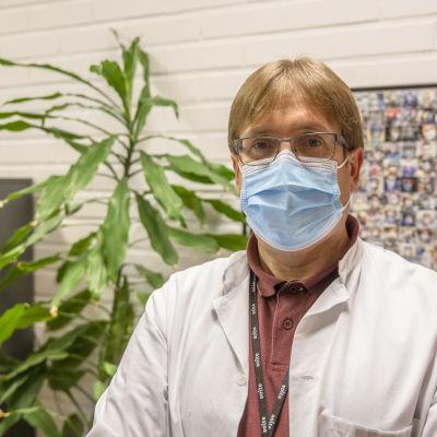 Soiten infektiolääkäri Marko Rahkonen Kokkolasta