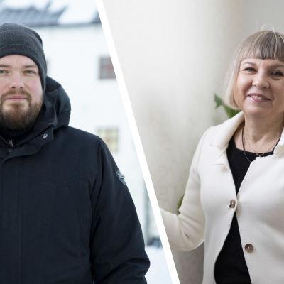 Mihail Ionin ja Marina Hämäläinen