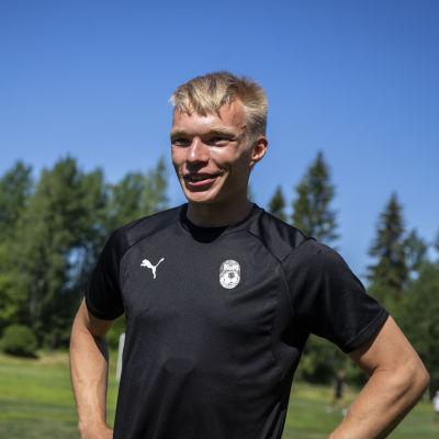 KuPS:n pelaaja Ilmari Niskanen