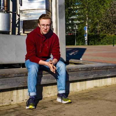 Tornion nuorisoneuvoston puheenjohtaja Lauri Kvist