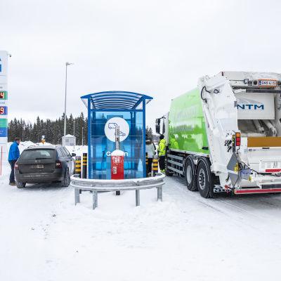 Gasumin tankkauspiste Kuopiossa