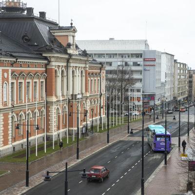 Kuopion kaupungintalo toukokuussa 2021