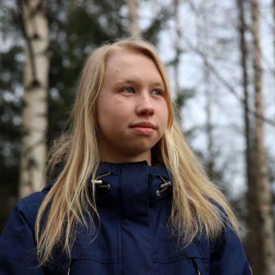 Nelli Mikkilä lähikuvassa